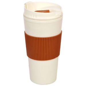 Coffee Details About Plastic 16oz Mug Hot Cold Insulated Travel Sleeve Cup Tea Drinks New With kiPXOuZ