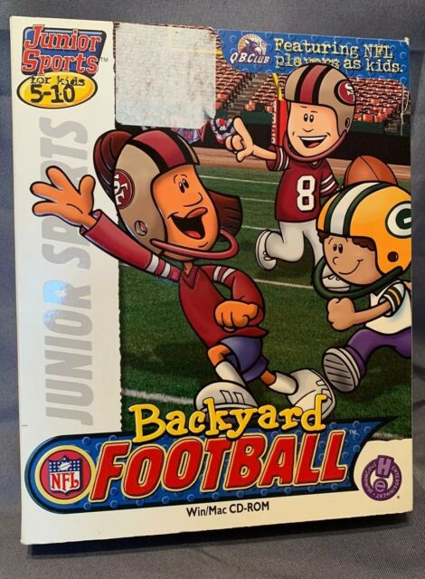Backyard Football Jewel Case (Windows/Mac, 2002) for sale ...