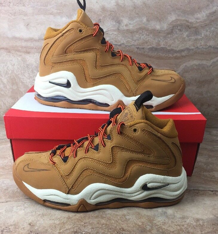 Nike Air Pippen Shoes Mens Sneakers Wheat Brown Desert Ochre Sneakers Mens ee027c