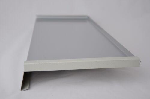 Aluminium rebord de fenêtre; fenêtre bancs pour extérieur; argent RAL 9006 alu tôle 1,2 mm