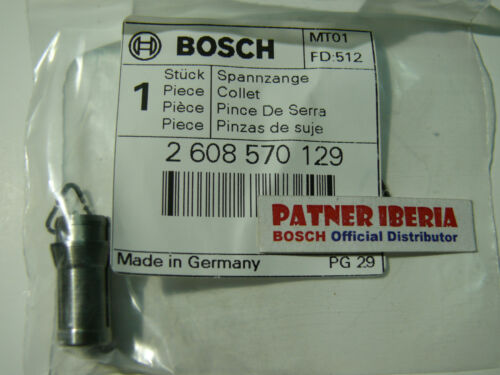 2608570129 Collet//pince 6 mm GGS 7C GGS 27L//LC Genuine BOSCH