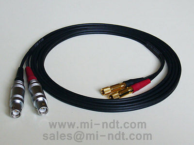 Equality Lemo 1 to Subvis Dual Industrial coaxial cable Cable for flaw detector