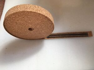 2K-00-Gauge-Cork-Roll-Model-Rail-Track-Underlay-10m-Long-x-35mm-Wide-x-2mm-Thick