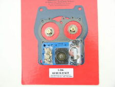 quick fuel 3-206 Holley Spread Bore Double Pumper Carb REBUILD Kit for 4165-4175