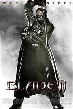 Affiche 40x60cm BLADE 2 (2002) Guillermo Del Toro - Wesley Snipes, Kris Kristoff