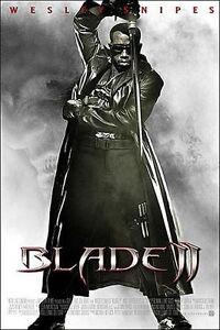 Affiche-40x60cm-BLADE-2-2002-Guillermo-Del-Toro-Wesley-Snipes-NEUVE