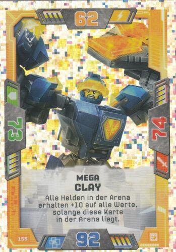 Lego Nexo Knights série 2 TCG-diapositives paillettes carte au choix NEUF