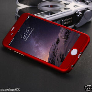 360 Degree Full Body Protective Front + Back Case Cover FOR APPLE iPHONE 6 / 6S