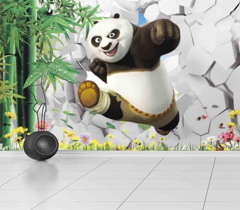 Tender Proud Panda 3D Full Wall Mural Photo Wallpaper Printing Home Kids Decor