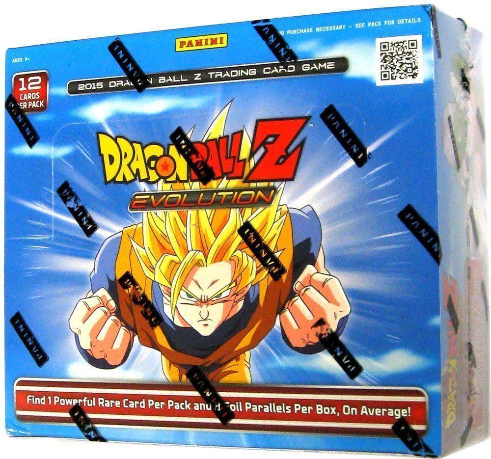 Panini DRAGON BALL Z Evolution Booster 12 12 12 Box Sealed Case bd7d1a