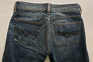 Diesel-Womens-Denim-Blue-Jeans-Size-26-x-31-Boot-Cut-Medium-Wash-Mid-Rise