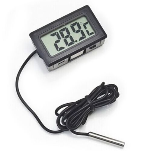 Digital LCD Thermometer Temperature Sensor for Refrigerator Freezer BATTERIES