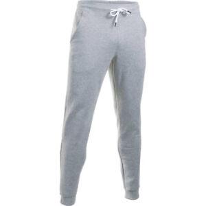 Under-Armour-Storm-Rival-coton-jogger-homme-pour-Fitness-pantalon-sport-gris