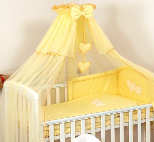 Chiffon Himmel für Babybett Betthimmel Moskitonetz Netze Weiß Rosa Graue Blau