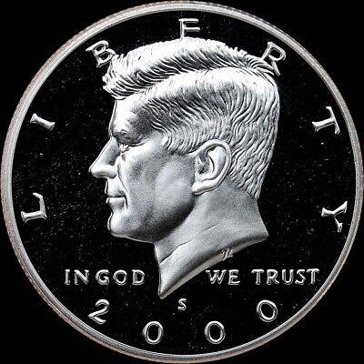 2018 S Kennedy Half Dollar Gem Deep Cameo CN-Clad Proof Coin