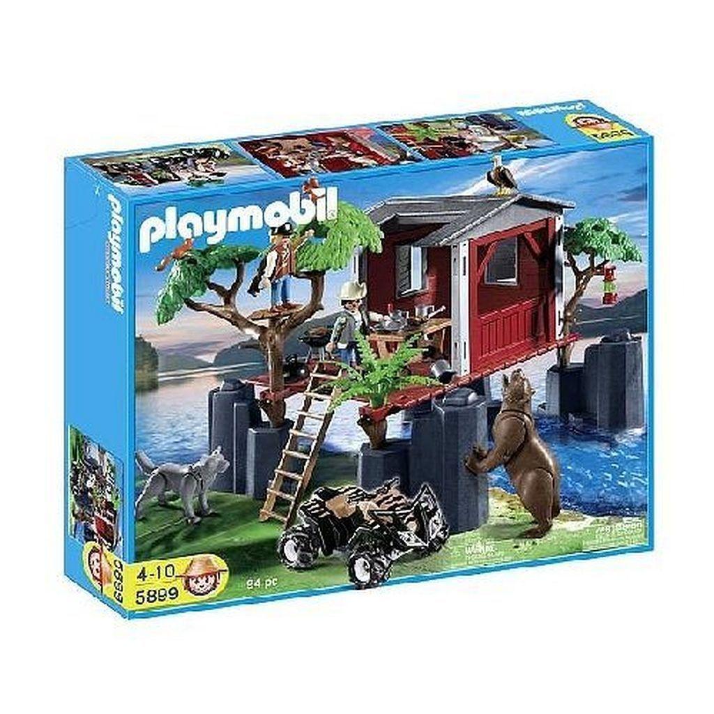 PLAYMOBIL® 5899 Wildlife Baumhaus Baumhaus Wildlife mit Tieren und Zubehör NEU/OVP bad0d7
