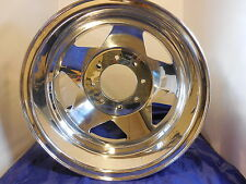"Chevy GMC  Alcoa OEM 16"" x 6.5 Alloy Wheel DUALLY Rear 8 Lug Rim 96 99 01 8x165"