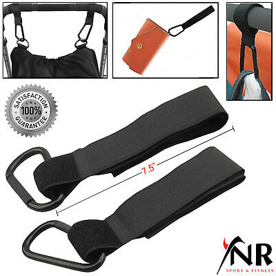 2x Baby Kids Stroller Hook Buggy Pram Clips Pushchair Changing Bag Holder