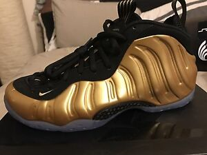 best service 162c0 4b573 Details about Nike Air Foamposite One Metallic Gold Size 9.5 Deadstock New