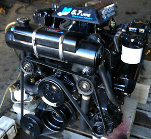 Used-2001-Mercruiser-inboard-Engine-350-5-7-Vortec-Hurth-Transmission-630A-1-5