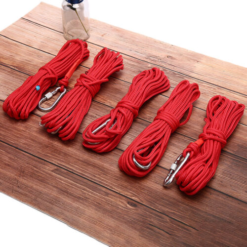 10M Red Fishing Magnets Rope Strong Search Magnets Fishing Pot Fishing Magnet JO