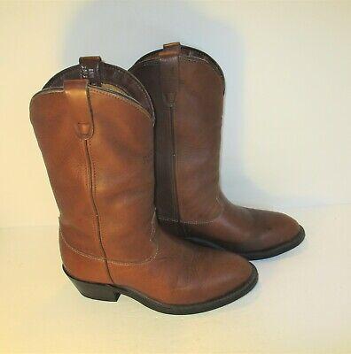 Vintage REDHEAD Brown Leather Vibram