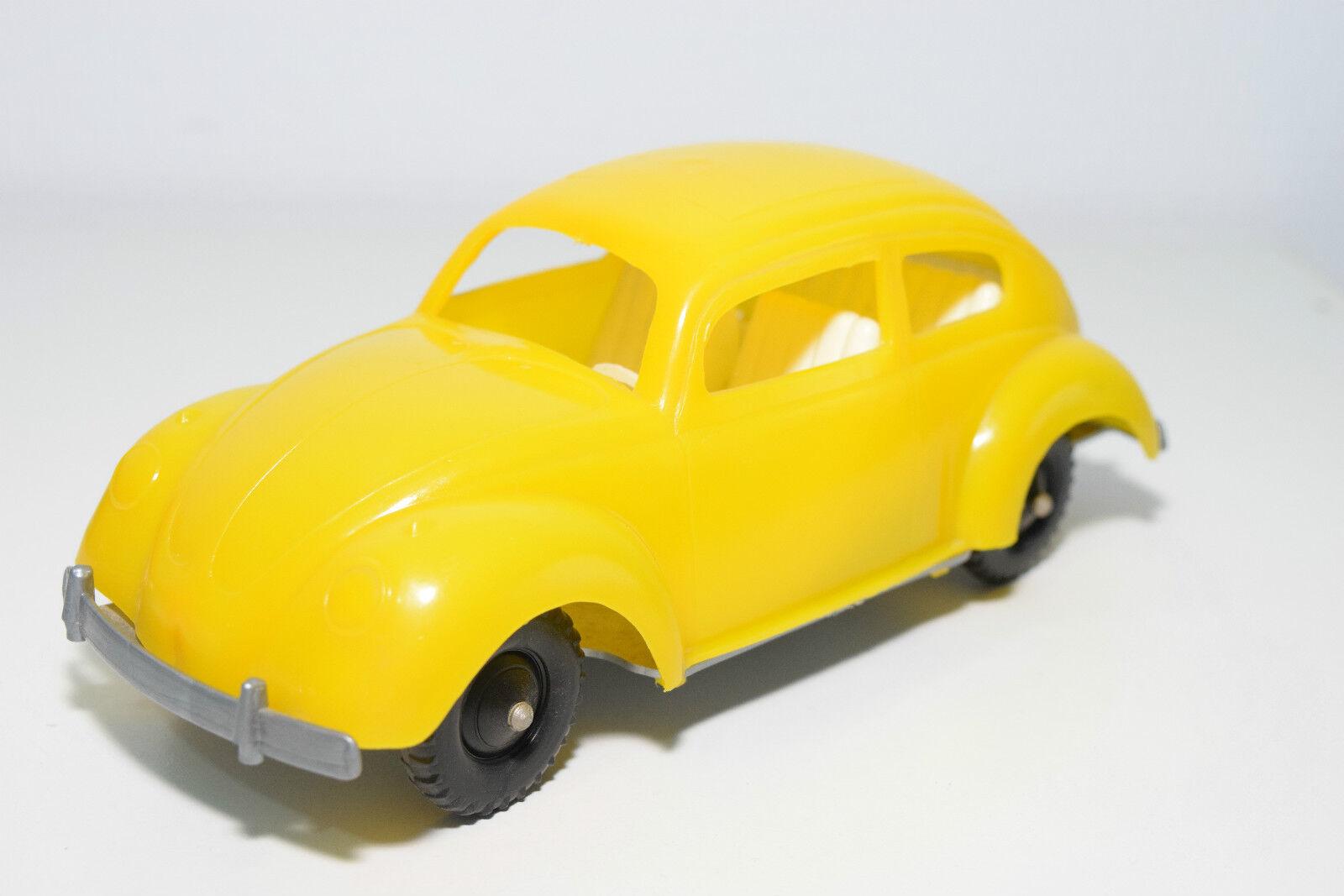 USA OR GERMANY PLASTIC PLASTIK VW VOLKSWAGEN BEETLE KAFER jaune NEAR MINT