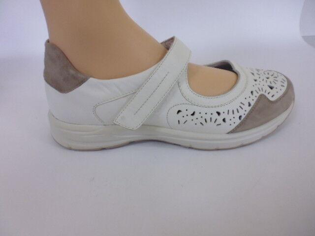 Zapatos velcro Slipper sandalia cuero de Semler (40,5) ancho K