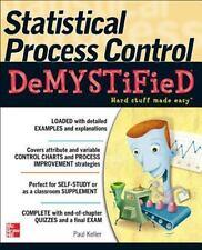 Statistical Process Control Demystified, , Keller, Paul, Very Good, 2011-07-19,