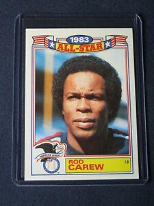 1984 Topps Glossy All-Stars ROD CAREW California Angels Baseball Card #2 MINT!
