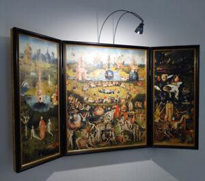Triptychon Altarbild Garten Der Luste Hieronymus Bosch Um 1500