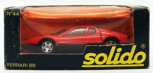 Solido-1-43-Scale-Diecast-Model-Car-44-Ferrari-BB-Red