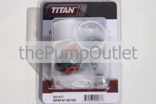 Titan Airless Paint Sprayer Packing Kit 0551677 600//750E SprayTech EPX 2355 *OEM