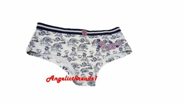 Primark Ladies Disney Beauty /& The Beast Hipsters Underwear Breif Knicker New
