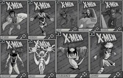 1500cc Topps Marvel Collect Wolverine Retro X-Men 3rd Printing DIGITAL CARD
