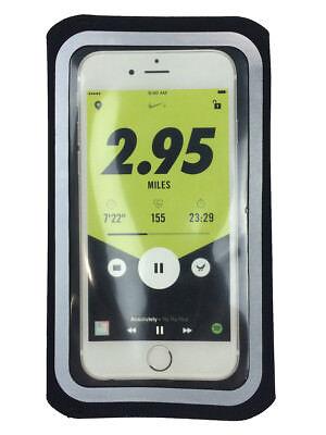 quality design 79c54 c8e25 Nike Handheld Running Phone Case For iPhone 6, 6s, 7 Black/Reflective New |  eBay