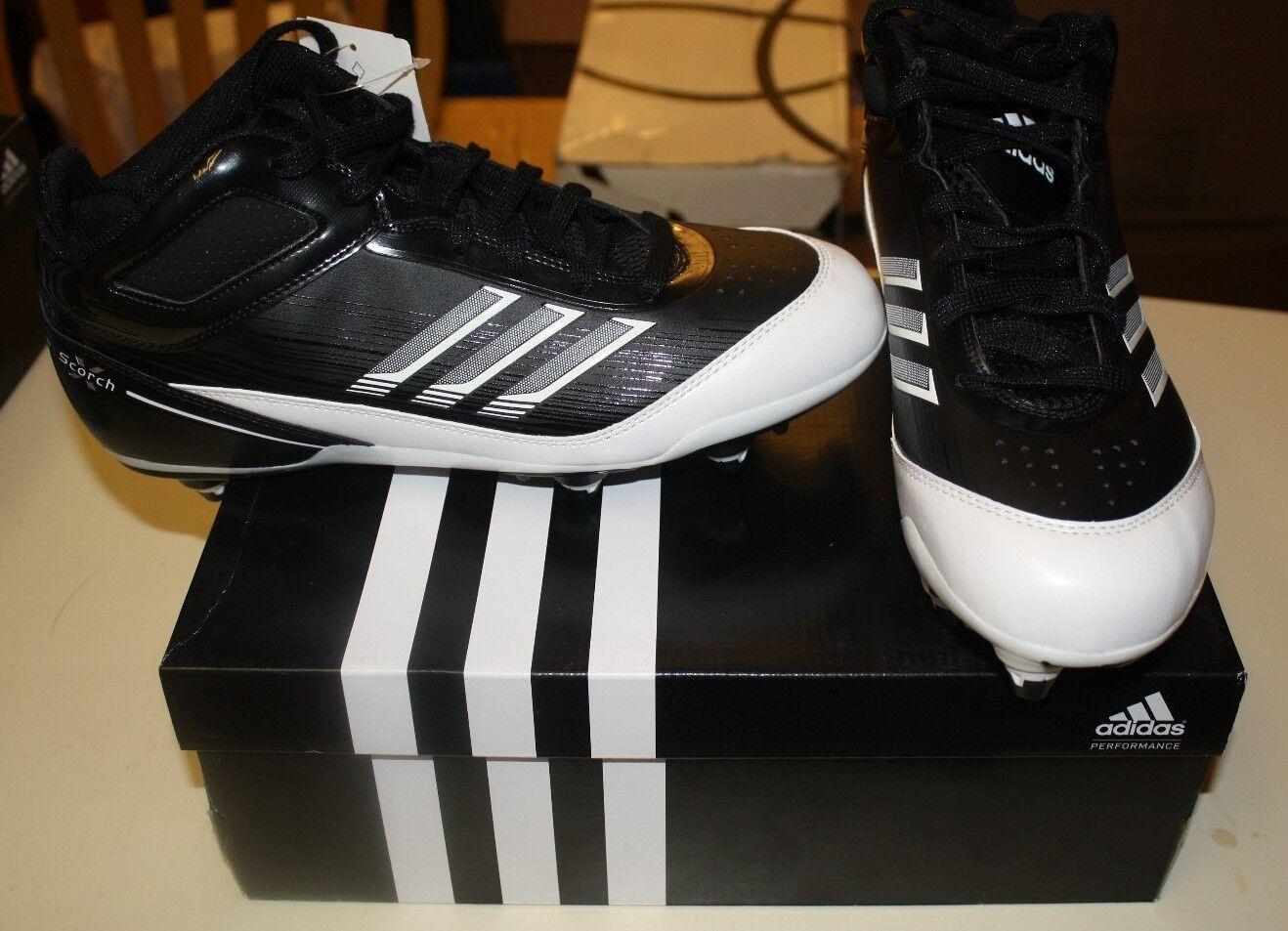 Adidas scorch x super mitte schuhe größe shipping bei 11,5 schwarze free shipping größe nib 004d02