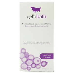 Honey Gel'n Bath 600g/21oz In Lavender Bathe W/ 1000's Of Massage Gel Beads Durable Service Bath & Body