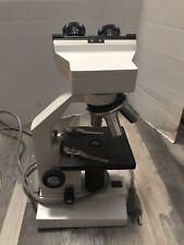 Amscope Illuminator Binocular Lab Compound Microscope 115v 20w 40x 100x