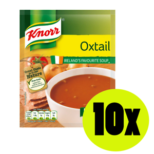 Image Is Loading 10x Knorr Oxtail Soup 60g Ireland 039 S