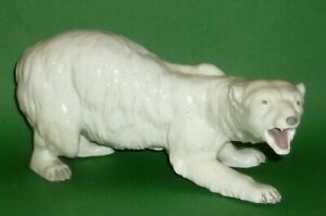 Old-Schwarza-Saalbahn-Polar-Bears-Porcelain-Figurine-Figure