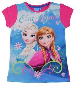 Disney die Eiskönigin Elsa Anna Frozen kurzarm T-Shirt Pink