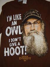 A&E I 'M Like An Owl I Don't Give A Hoot  Duck Dynasty T-Shirt Size Small