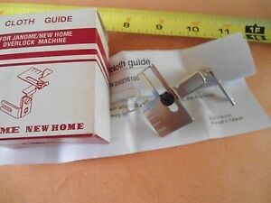 Janome MyLock Serger Cloth Guide