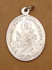 Rarität - Pilgeranhänger - Regina Sacri Scapularis O.P.N. / Herz Jesus (AE59)