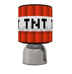 TNT-Gaming-Pixel-Light-Touch-Lampe-Kids-Room-matches-Ensemble-De-Couette-de-jeu-Gratuit-p-amp-p