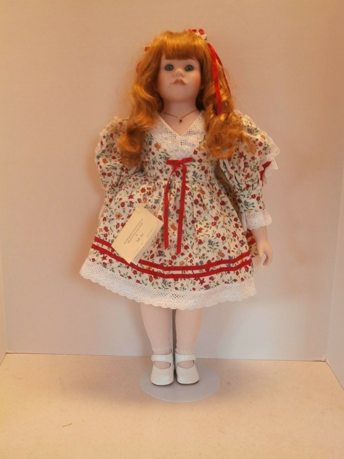 VINTAGE LIMITED EDITION 23  GOEBEL DOLL  BY BETTE BALL ORIGINAL 1989 ALL AMERICA