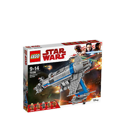 NEW Lego Star Wars Resistance Bomber 75188