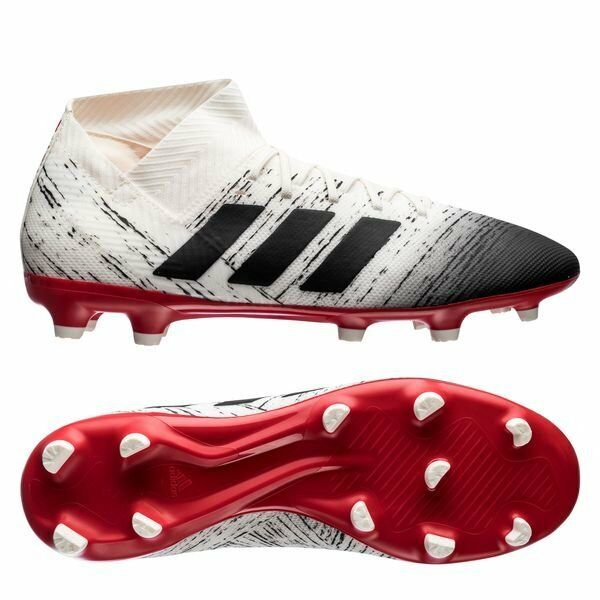adidas Nemeziz 18.3 FG 2018 Soccer Shoes Cleats Brand New White Black Red