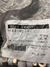 New Sealed Bag Of 10 Pisco Pfn2 U10u Fittings